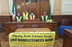 Three arrested after housing activists occupy Cork City Hall
