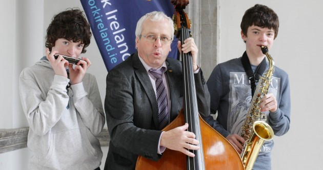 Politicians Playing the Sax and Double Bass Pics of the Day