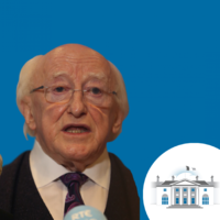 Michael D Higgins: 'I'm not a millionaire. I don't see the merit in this kind of discourse'