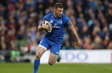 Concern for McFadden as Leinster winger suffers 'high grade' hamstring injury