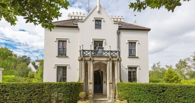 Lord it over the rest of Dublin in this €3.75m Gothic revival mansion
