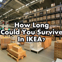 How Long Could You Survive In IKEA?