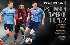 UCD and Shelbourne strongly represented in PFAI First Division Team of the Year