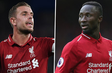Keita and Henderson ruled out of Liverpool's Champions League clash but there's good news