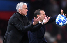 Mourinho: Juventus at a different level to Man United