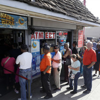 A lotto ticket worth €1.4 billion - yes, billion - has been sold in the US
