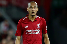 Klopp set to give Fabinho his big chance with midfield pair missing