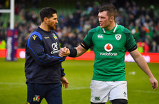 McKinley on the bench as O'Shea names Italy team for Ireland clash