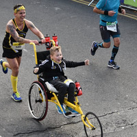 'Inspirational' 12-year-old with cerebral palsy to take part in Dublin marathon for a third time