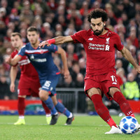 50 goals in 65 games for Salah as Liverpool win to top Champions League group