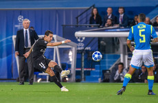 Stunning late Di Maria goal keeps PSG within touching distance of Liverpool and Napoli