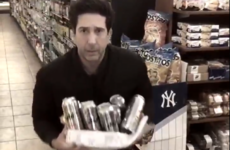 David Schwimmer has given British police a hand with his lookalike thief... it's The Dredge