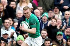 'It'd be hard to see me playing anywhere else': Keith Earls extends contract to 2021