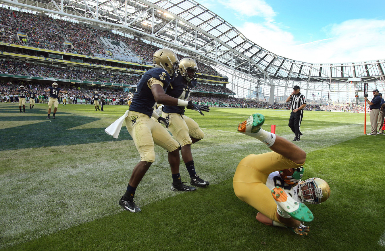 Five US College Football games set for Dublin as organisers