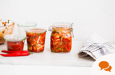 From the garden: How to make your own tangy kimchi at home