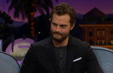 James Corden brought up Jamie Dornan's embarrassing stint as a folk singer