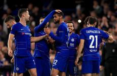 Loftus-Cheek stars with hat-trick as Chelsea coast to Europa League win