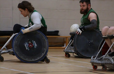 The Irish Murderball - Ireland's first-ever World Championship wheelchair rugby team
