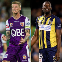 Andy Keogh says Usain Bolt's first touch is 'like a trampoline' after arrival in Australia