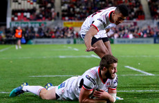 McCloskey double caps bonus point win for Ulster over Dragons