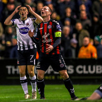 Worry for Dundalk ahead of FAI Cup final as Patrick Hoban limps off during Dalymount draw