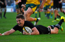 Brilliant Barrett steers ruthless All Blacks to Bledisloe Cup whitewash