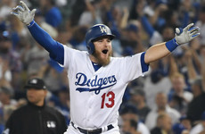 Muncy's walk-off homer sees Dodgers win longest game in World Series history