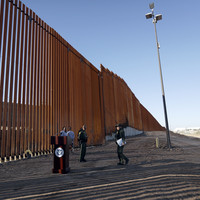 'Everything on table' to block migrants, as first section of Trump's wall unveiled