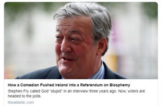 'A new, tolerant, liberal Ireland': World media reacts to blasphemy vote