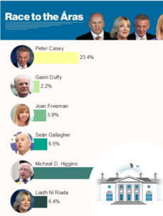Michael D versus the rest: How did your constituency vote?