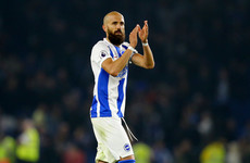 Brighton defender becomes the oldest player to assist a Premier League goal since Jussi Jaaskelainen