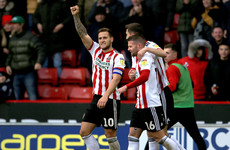 2 Irish internationals feature as razor-Sharp Sheffield United go top of Championship