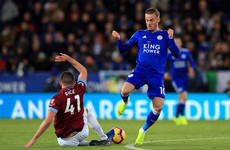'A huge future ahead of him' - Declan Rice impresses again as 10-man West Ham hold Leicester