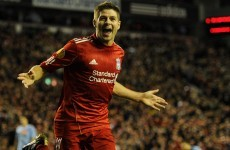After another hat-trick here's Steven Gerrard's best goals