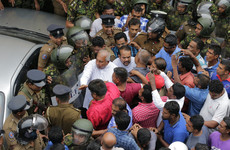 One dead in Sri Lanka shooting as constitutional crisis erupts into violence