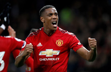 Anthony Martial strike proves decisive as Man United secure back-to-back home wins in the Premier League