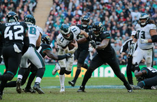 Rams stop Packers to remain unbeaten as Eagles triumph in London's Wembley Stadium