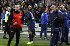 Neymar urges officials to take action after objects thrown from the crowd during Marseille clash