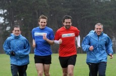 A grand soft day: Entertainers lace up for 126-mile run in aid of Special Olympics Ireland