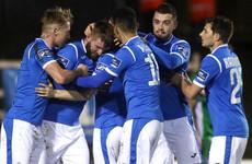 Paddy McCourt's winner gives Finn Harps slender edge in promotion/relegation play-off