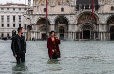 Venice hit by heavy flooding as 11 people die in storms across Italy