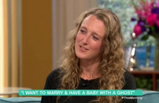You'll be delighted to hear that the woman who has sex with ghosts is now engaged to her ghost boyfriend