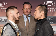 Four-weight champ Donaire inspired to share ring with 'great man' in Ireland's Burnett this Saturday