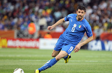 Italian World Cup winner Iaquinta jailed for firearms possession and mafia links