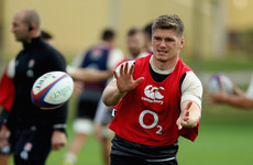 Farrell starts at out-half as Jones names England team for Springboks