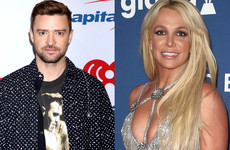 Can Justin Timberlake go five minutes without mentioning Britney? Apparently not