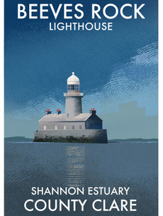 Enda Kenny's grandfather, a Dutch plane full of diamonds: Illustrating the lesser-known histories of Irish lighthouses