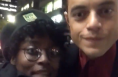 Rami Malek has explained why he wasn't on board with saying hi to a fan's friends