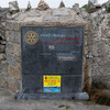 Double Take: The plaque asking people to 'kick the wall' on Salthill prom