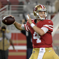 Dream debut for undrafted quarterback Mullens as 49ers trounce Raiders